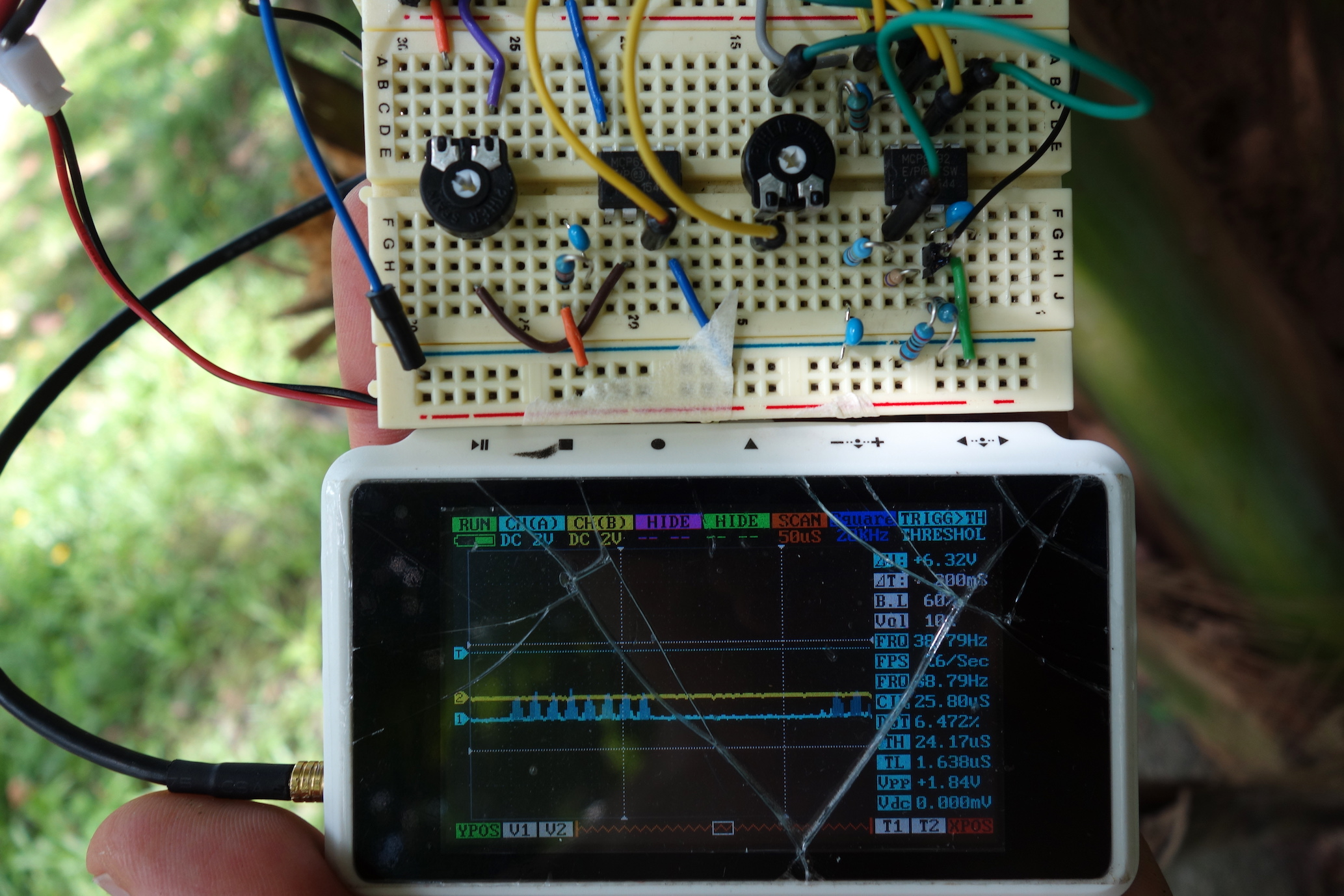 September 2018 The Digital Naturalism Conference Mosquito Racket Electronic Killer Structure And Circuit Result It Was Possible To Pick Up Signal A Couple Of Centimeters 10 Cm Away From Transmitter Different Plants Worked Well